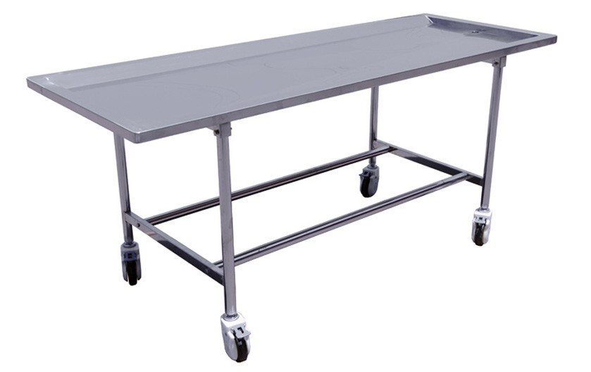 Model tbl stainless steel embalming table lbs