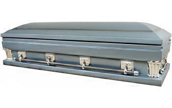 2016X-FC- Oversize Full Couch w/Foot Panel Going Home Casket 27 inch inside / 28 inch outside
